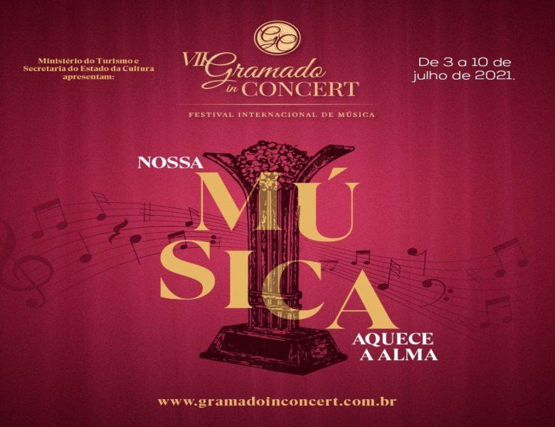 Gramado in Concert oferece programação física e digital a partir deste sábado