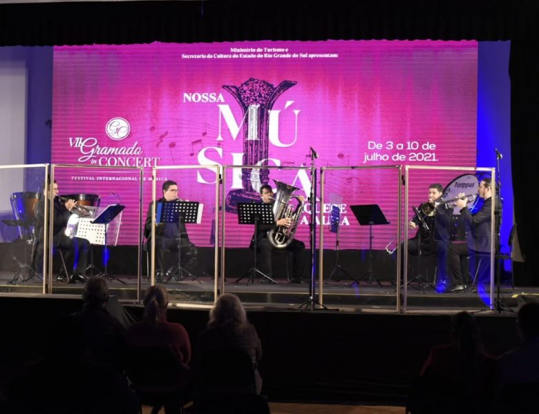 Gramado In Concert – A Harmonia entre instrumentos de corda e sopro